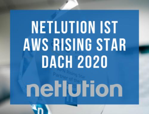 Netlution erhält Rising Star-Auszeichnung 2020 von AWS!