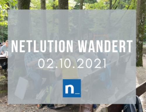 Netlution wandert 2.0!